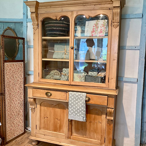 Vintage Pine Glazed Dresser, antique and secondhand furniture at Source for the Goose