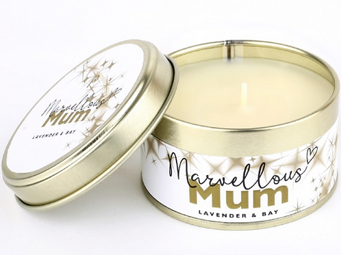 Marvellous Mum Pintail  Candle, scented with Lavender and Bay, homewares at Source for the Goose, Devon