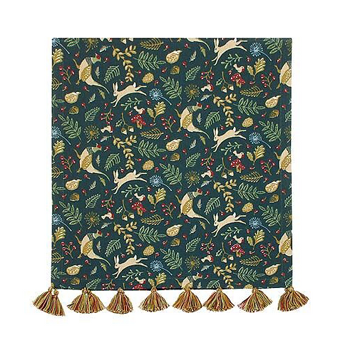 Enchanted Forest Table Runner by Waltons of Yorkshire at Source for the Goose