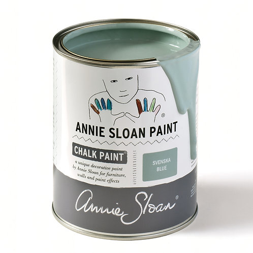 Svenska Blue Chalk Paint, Source for the Goose Annie Sloan chalk paint stockist