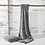 Faux Fur Throw in Charcoal at Source for the Goose, Devon