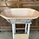 Vintage Painted Baby Bath with Duck Design, retro interiors at Source for the Goose, Devon