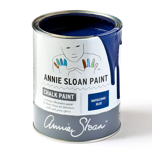 Napoleonic Blue Chalk Paint at Source for the Goose
