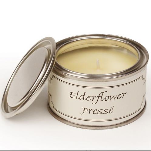 Elderflower Presse Scented Pintail Paint Pot Candle to buy in Devon