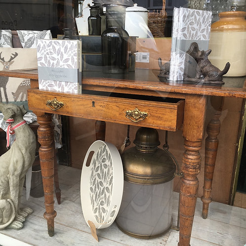 Edwardian Ladies Writing Desk with drawer, vintage, secondhand furniture at Source for the Goose, South Molton, Devon