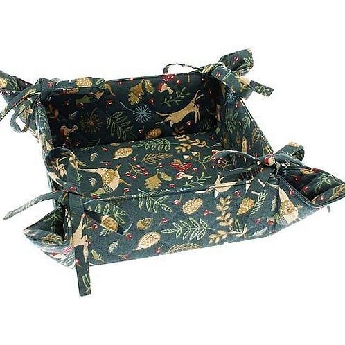 Enchanted Forest Bread Basket by Waltons of Yorkshire homewares