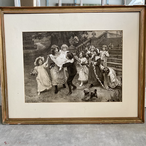 Arthur J Elsley Children Playing Print