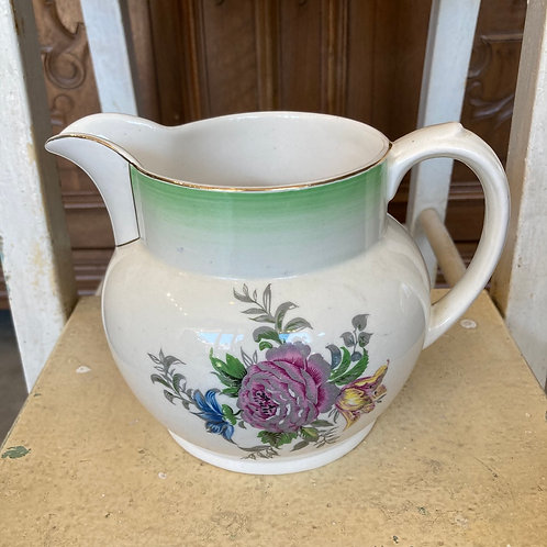 Vintage Small Floral Jug, vintage interiors and homewares at Source for the Goose, South Molton, Devon