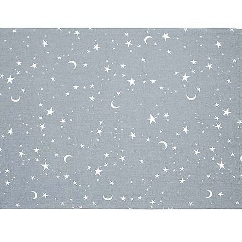 Set of Two Twilight Grey Placemats by Waltons of Yorkshire