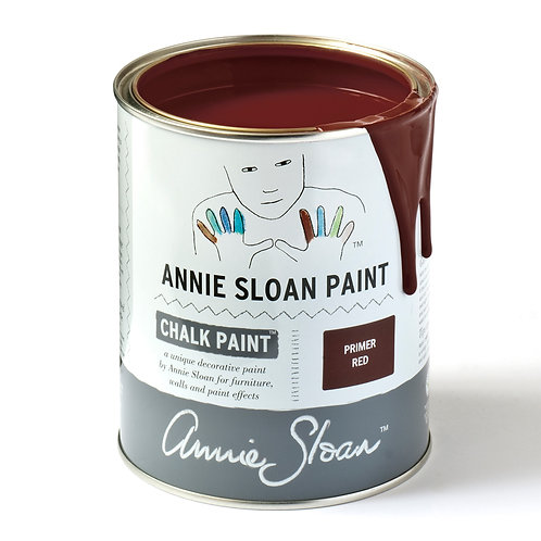 Brick red Chalk Paint, Annie Sloan Primer Red