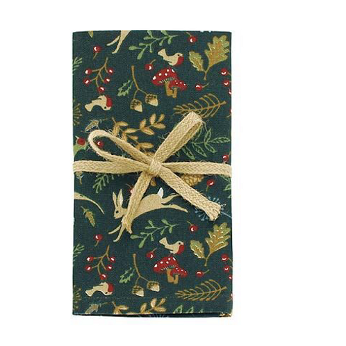 Set of Four Enchanted Forest Napkins, Waltons of Yorkshire interiors at Source for the Goose