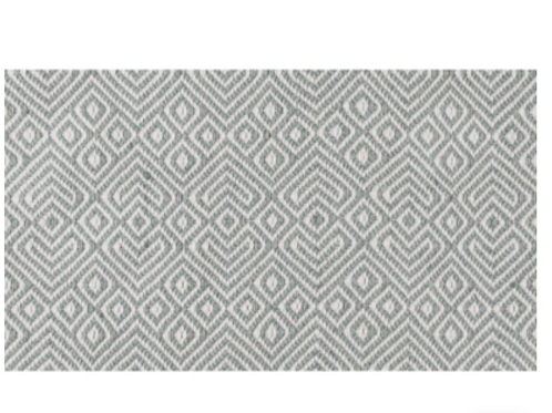 Dove Grey Provence Rug from Weaver Green to buy at Source for the Goose, Devon