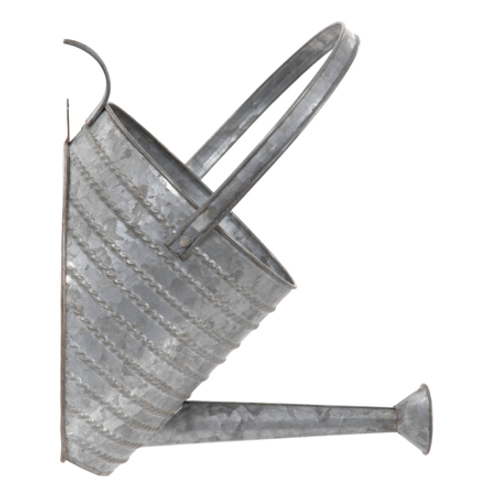 Zinc Watering Can Wall Planter
