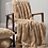 Marilyn Faux Fur Throw in Caramel, interiors at Source for the Goose, Devon
