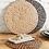 Circular Hyacinth Tablemat, homewares at Source for the Goose