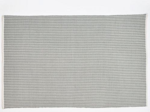 Dove Grey Brighton Stripe from Weaver Green to buy at Source for the Goose, Devon