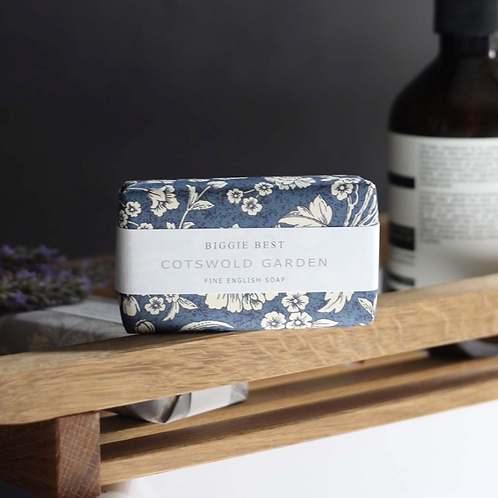 Handmade Cotswold Garden Soap, to buy from the lifestyle shop at Source for the Goose, Devon