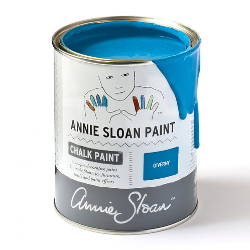 Bright Blue Chalk Paint Giverny to buy in Devon