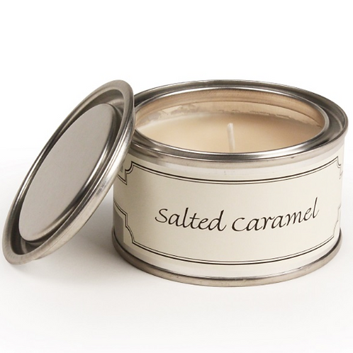 Salted Caramel scented Pintail Candle to buy in Devon