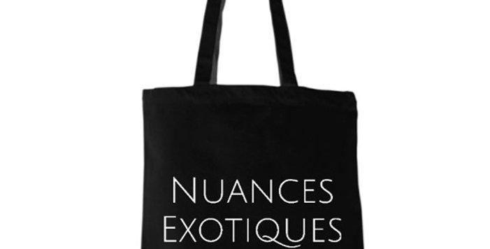 Tote Bag BIO Nuances Exotiques Noir