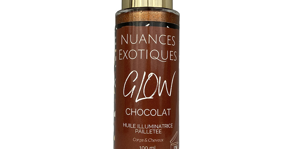 Huile pailletée Glow CHOCOLAT