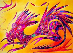 Tattoosaurus Rex in full colour