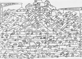 Car dump as a work of art