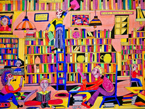 The colourful world of books