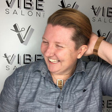 Hair cut by Sladjana at Vibe Salon