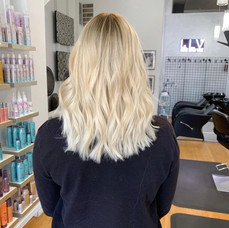 Color & Cut for summer by Frankie at Vibe Salon.