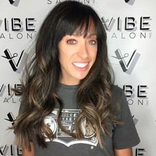 Hair cut & color by Sladjana at Vibe Salon