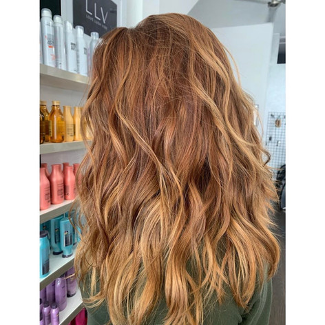 Colored, cut, & styled by Josie at Vibe Salon.