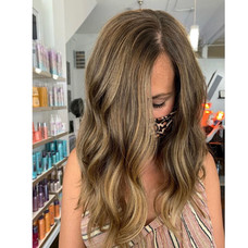 Summer cut & colored by Josie at Vibe Salon.