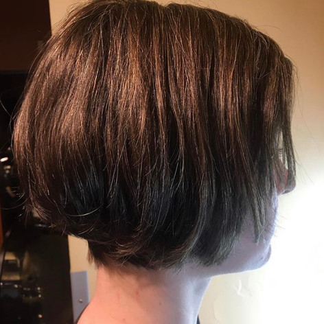 Cut & styled by Kelsey at Vibe Salon.