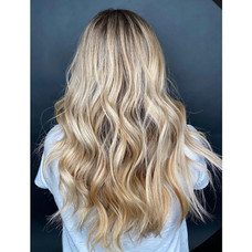 New color for this long haired beauty by Taeylor at Vibe Salon.