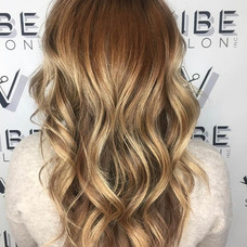 Styled, colored, & cut by Sladjana at Vibe Salon.