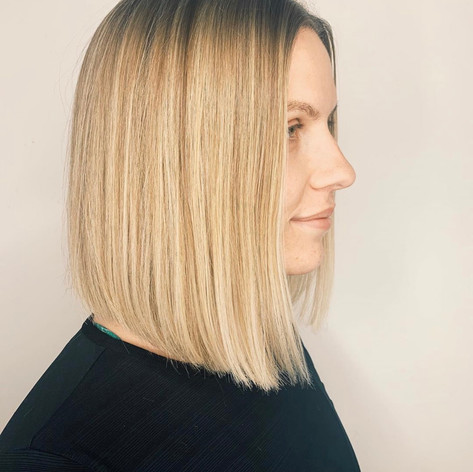Short & extraordinary cut by Amanda at Vibe Salon.