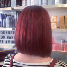 Red hair for a Sring Change with Tanja at Vibe Salon