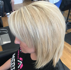 Short and blonde at Vibe Salon by Tanja!