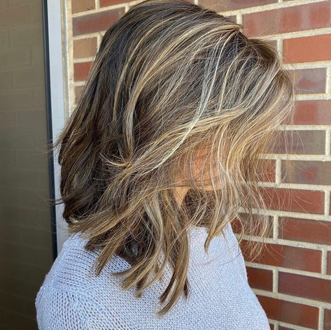 Colored & cut by Kelsey at Vibe Salon.