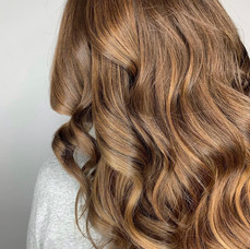 Golden colored and styled by Amanda at Vibe Salon.