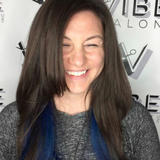 Hair color & cut by Sladjana at Vibe Salon.