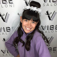 Big day for this girl! Hair styled by Sladjana at Vibe Salon.