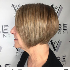 Sassy hair for this beauty by Sladjana at Vibe Salon.