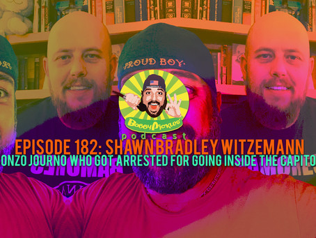 Reporter arrested for going inside Capitol, Shawn Bradley Witzemann   Bobby Pickles' Podcast™️ Ep182