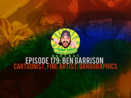 Right-Brained, Right-Wing Propagandist, Ben Garrison   Bobby Pickles' Podcast™️ Ep 179