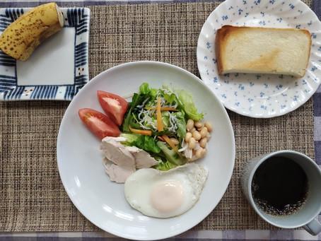 朝食はワンパターンで簡単に!