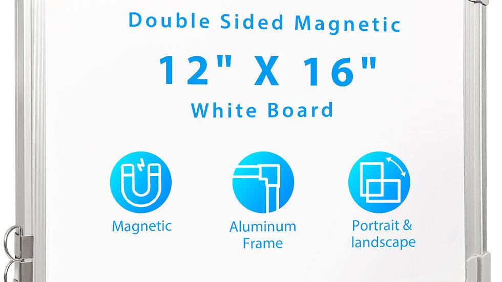 612677941960 Wall Mounted White Board Small