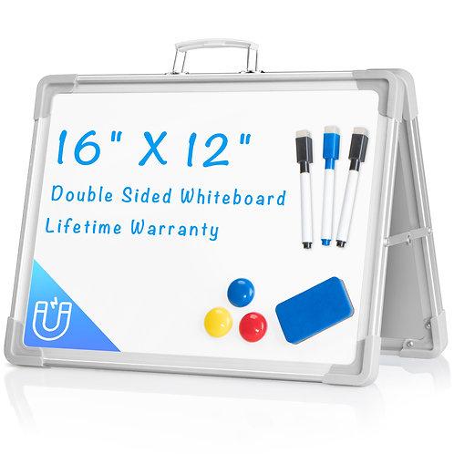 612677941854  Small Foldable Dry Erase Board