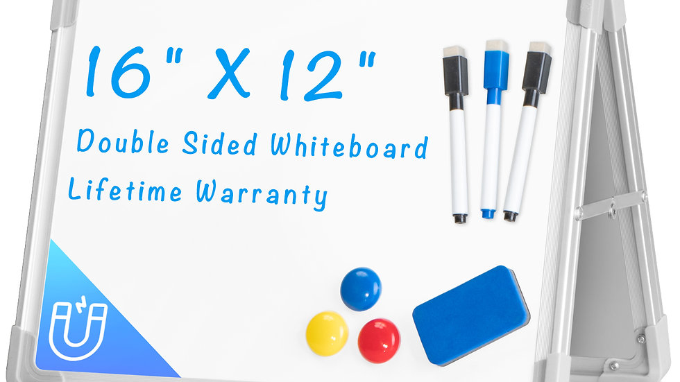 612677941847 Small Foldable Dry Erase Board